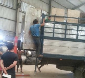 Dịch vụ vận chuyển máy công trình uy tín tại Hà Nội